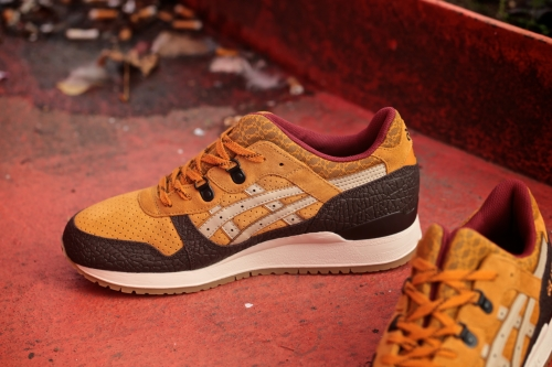 "ASICS GEL-Lyte III ""Workwear"" Pack – Tan / Sand"