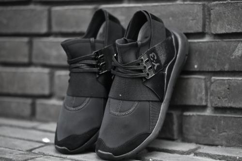 adidas Y-3 Qasa Elle Lace - Black / Black / Black
