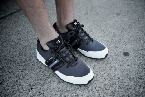 adidas Y-3 Sprint – Steel Grey / Ftwr White / Black