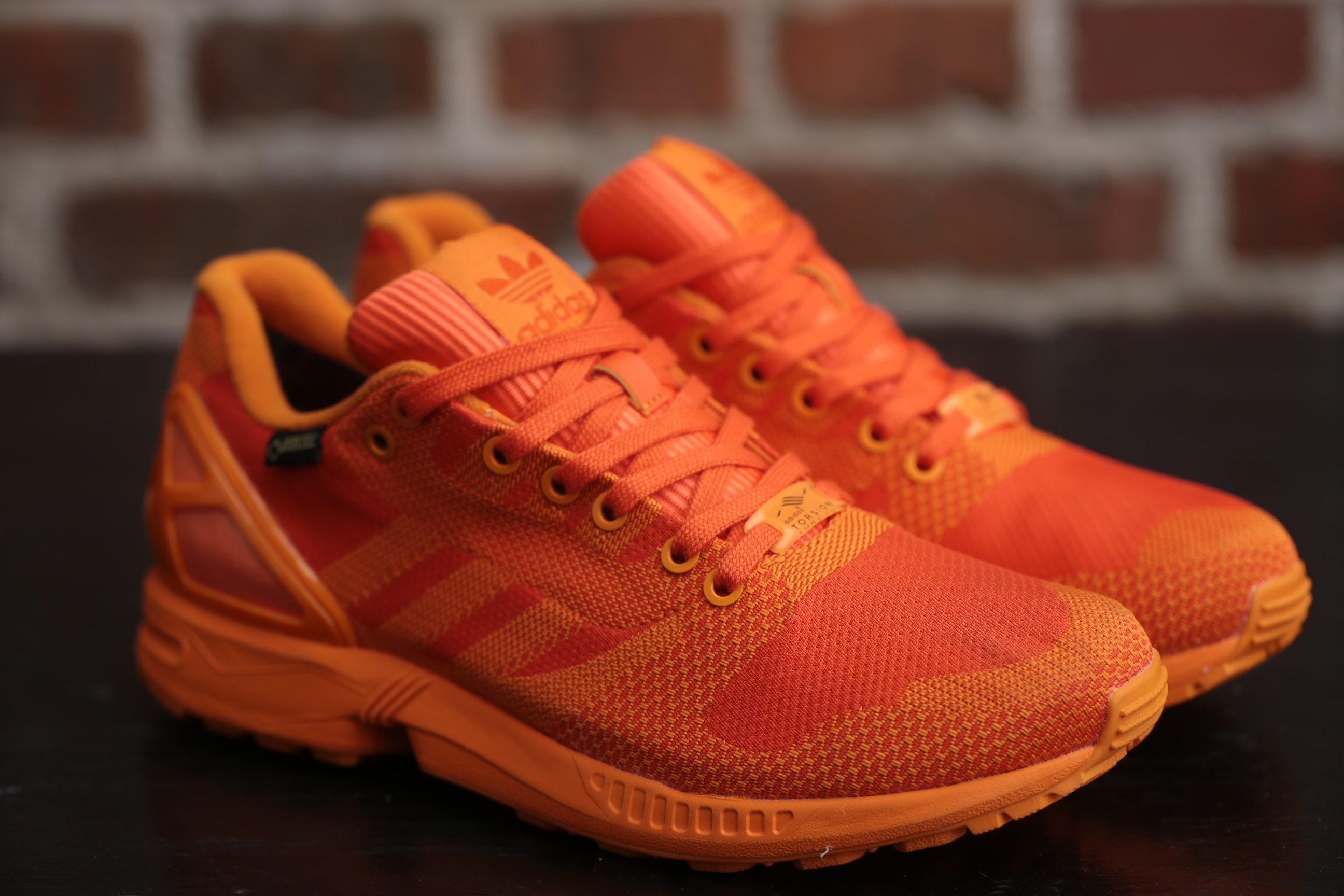 adidas torsion zx flux orange