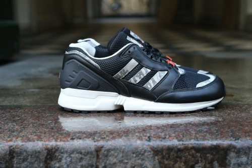 adidas Originals Equipment Running Cushion 9 – Black / Chalk White / Bright Red
