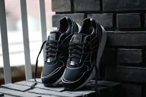 Puma x ICNY Trinomic R698 - Black / White