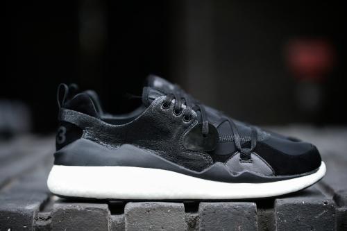 adidas Y-3 Femme Boost Lace - Black / Black / Black
