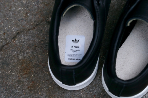 adidas Originals by HYKE Haillet - Core Black / Core Black / White