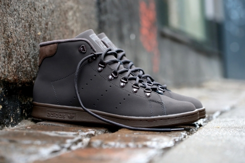 adidas Originals Stan Smith Winter - Night Brown / Dark Brown / Night Brown