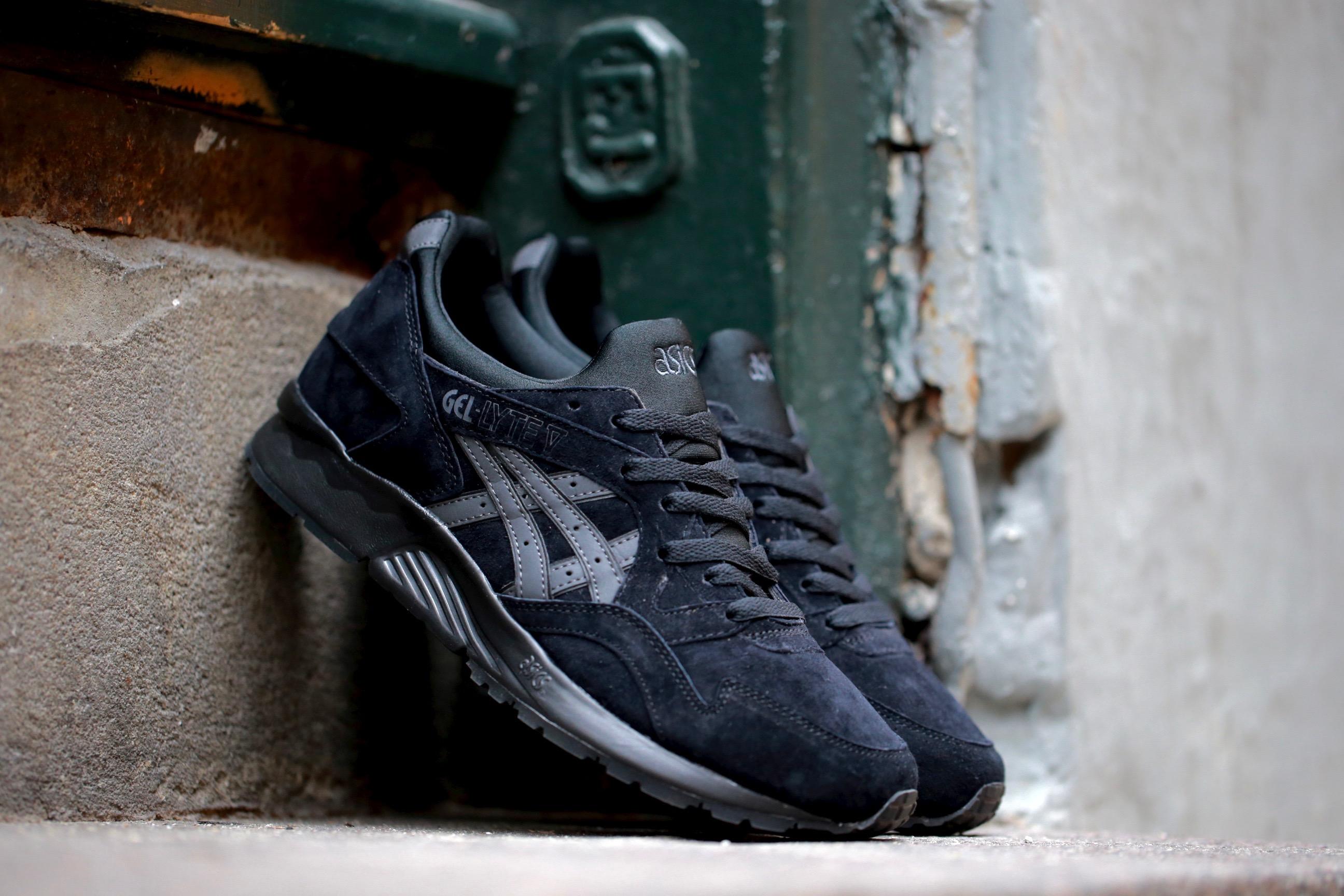 """factory price 494fe 7c7e7 ASICS Gel-Lyte V """"Shadow"""" Pack – Black / Black – STASP"""