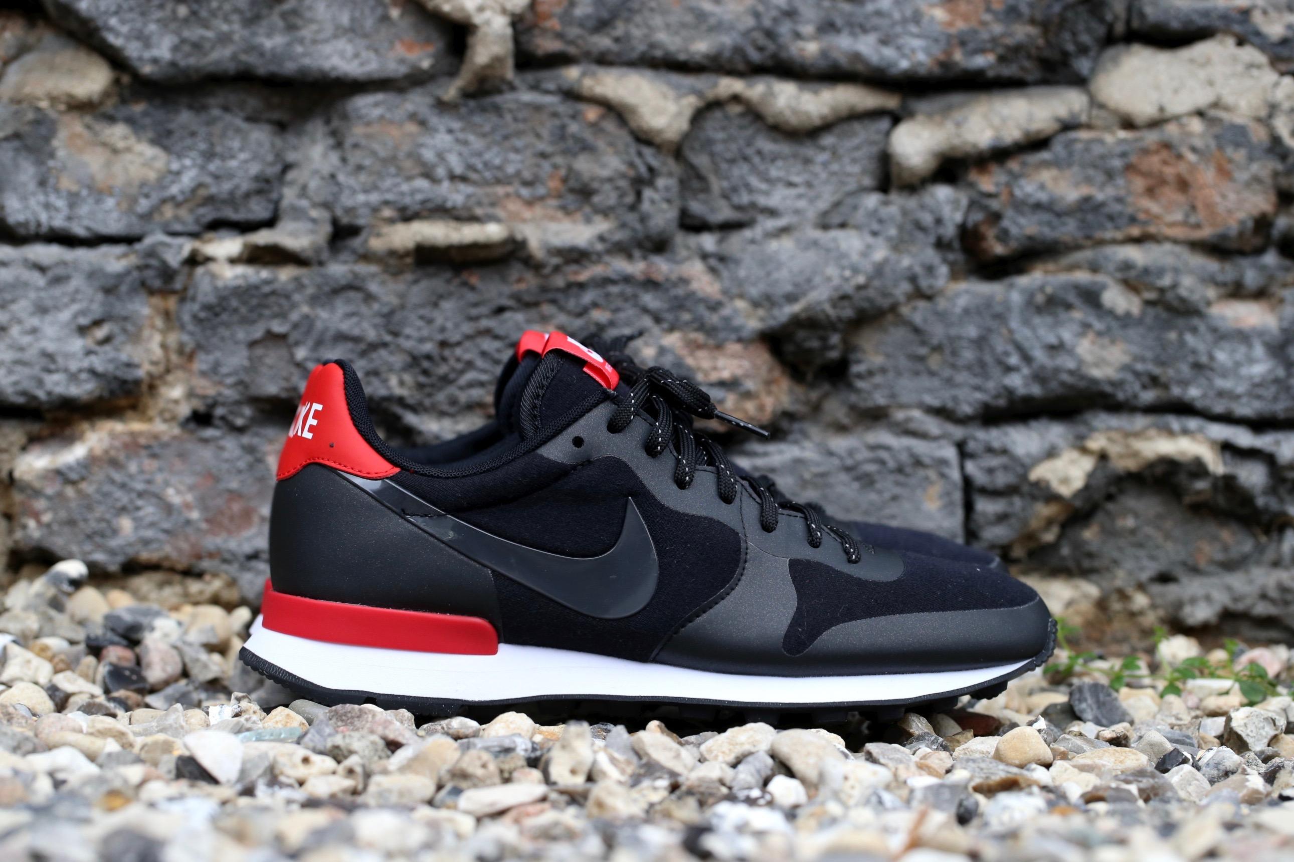 meet 5ab3e e7cf5 Nike Wmns Internationalist TP – Black   Challenge Red   White – STASP
