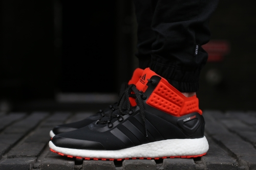 adidas Running CH Rocket Boost MC - Core Black / Bold Orange