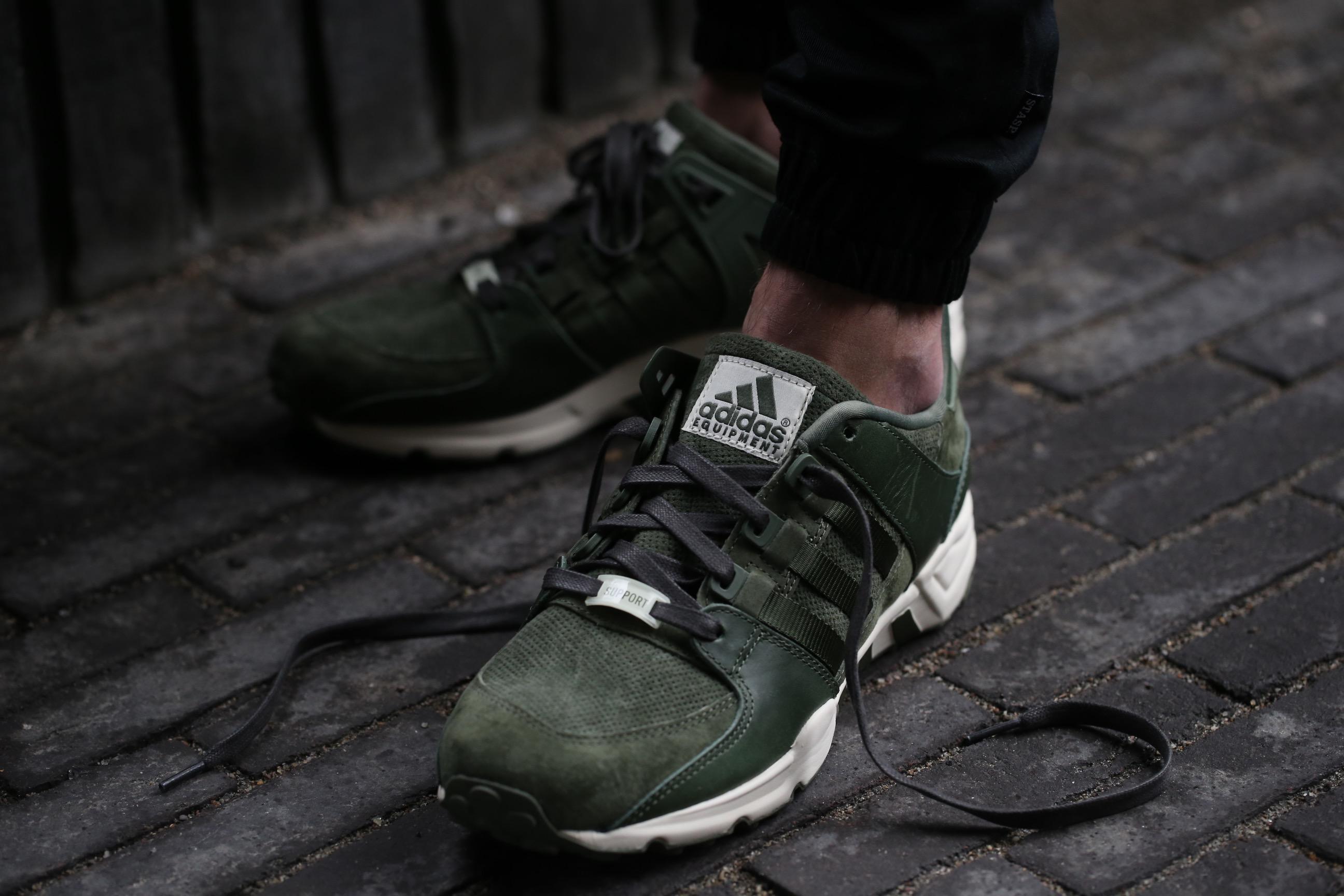 "size 40 f80f4 341ba adidas Originals Equipment Running Support ""Herzo"" – Base Green ..."