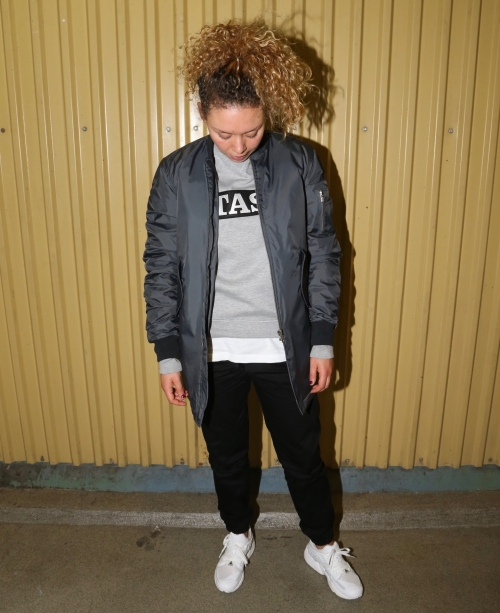 STASP. Long Bomber - Charcoal