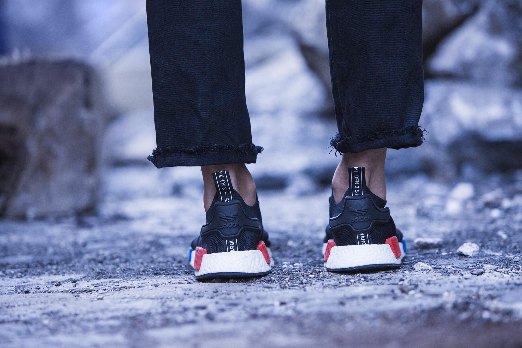 Pre-order  adidas Originals NMD Runner PK – Core Black   Lush Red ... 302e4135285e