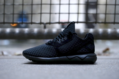 adidas Originals Tubular Runner - Core Black / White / Silver Metallic
