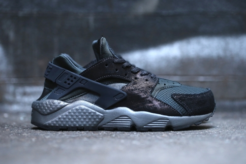 Nike Wmns Air Huarache Run PRM - Anthracite / Black