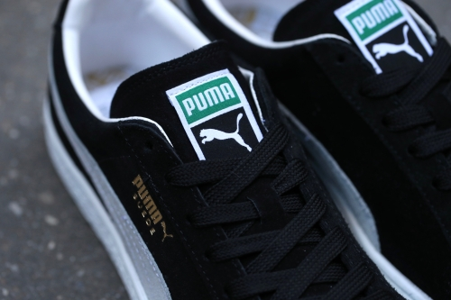 PUMA Suede Classic+ - Black / White
