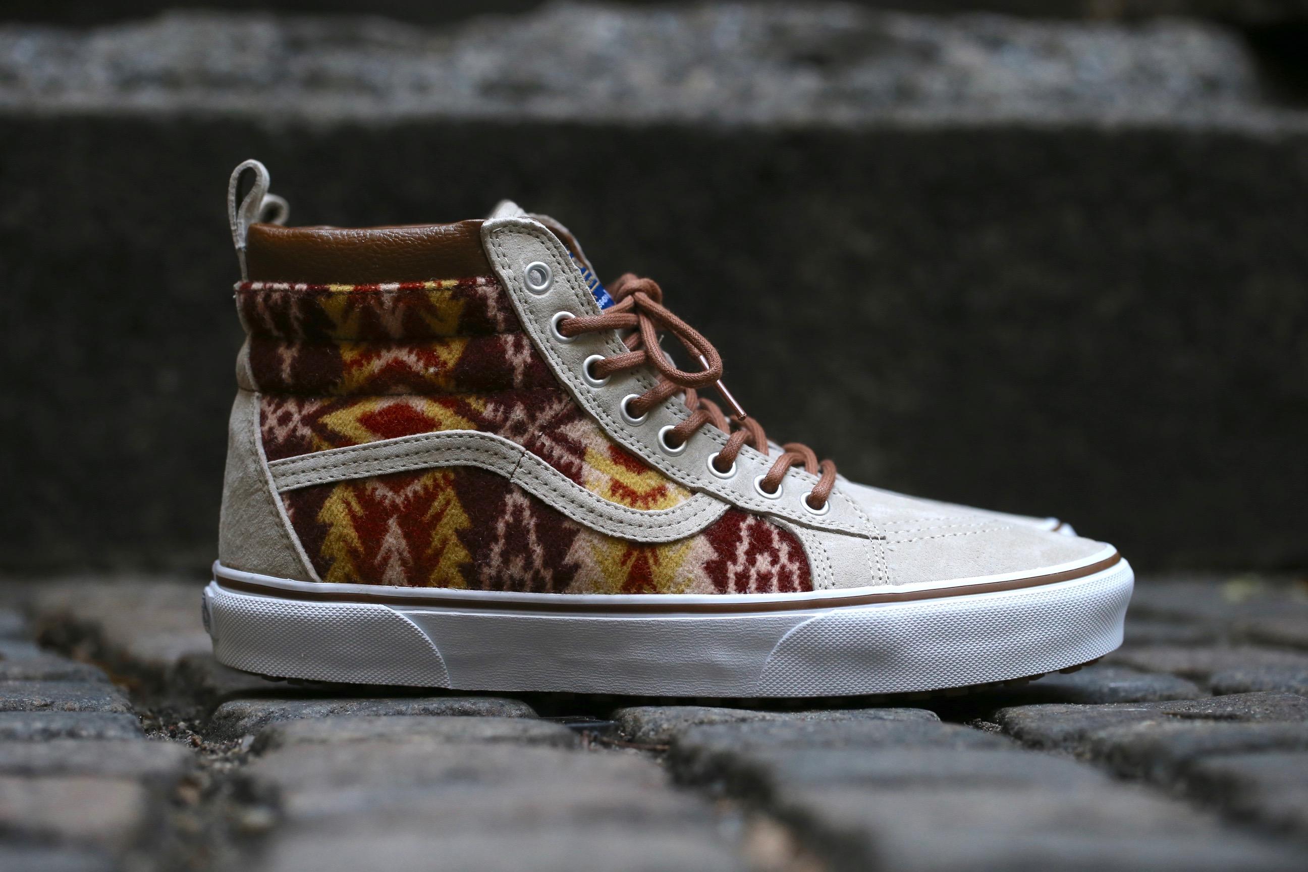 1b30e27a88 Vans x Pendleton Sk8-Hi MTE – Tribal   Tan – STASP