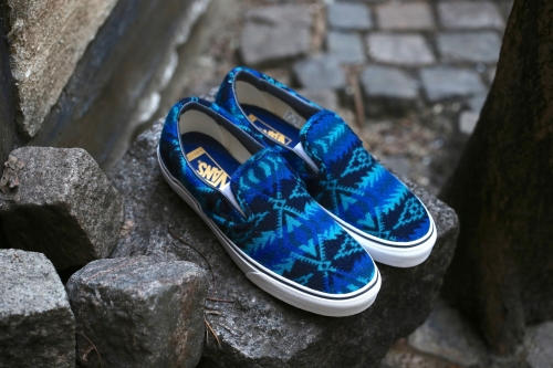 Vans x Pendleton Classic Slip-On - Tribal / Asphalt