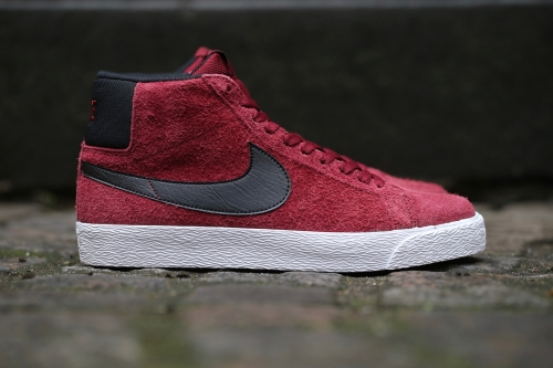 Nike SB Blazer Premium SE - Team Red / White / Black