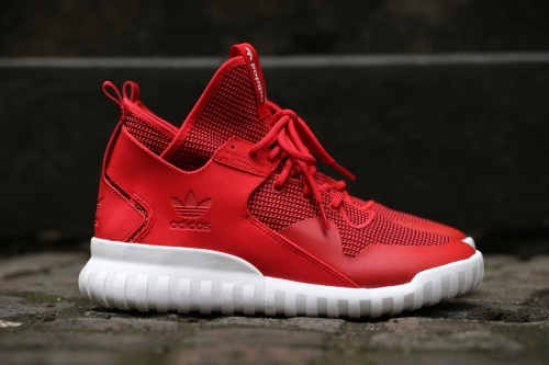 adidas Originals Tubular X - Collegiate Red / White