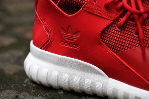 adidas Originals Tubular X - Collegiate Red / White