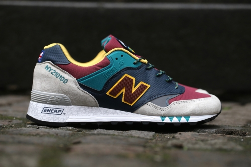 "New Balance 577 ""Napes"" Pack - Navy / Burgundy / Grey"