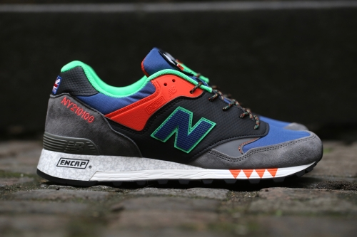 "New Balance 577 ""Napes"" Pack - Grey / Blue / Orange"