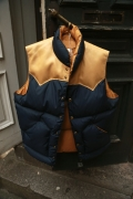 Rocky Mountain Featherbed Down Vest - Navy