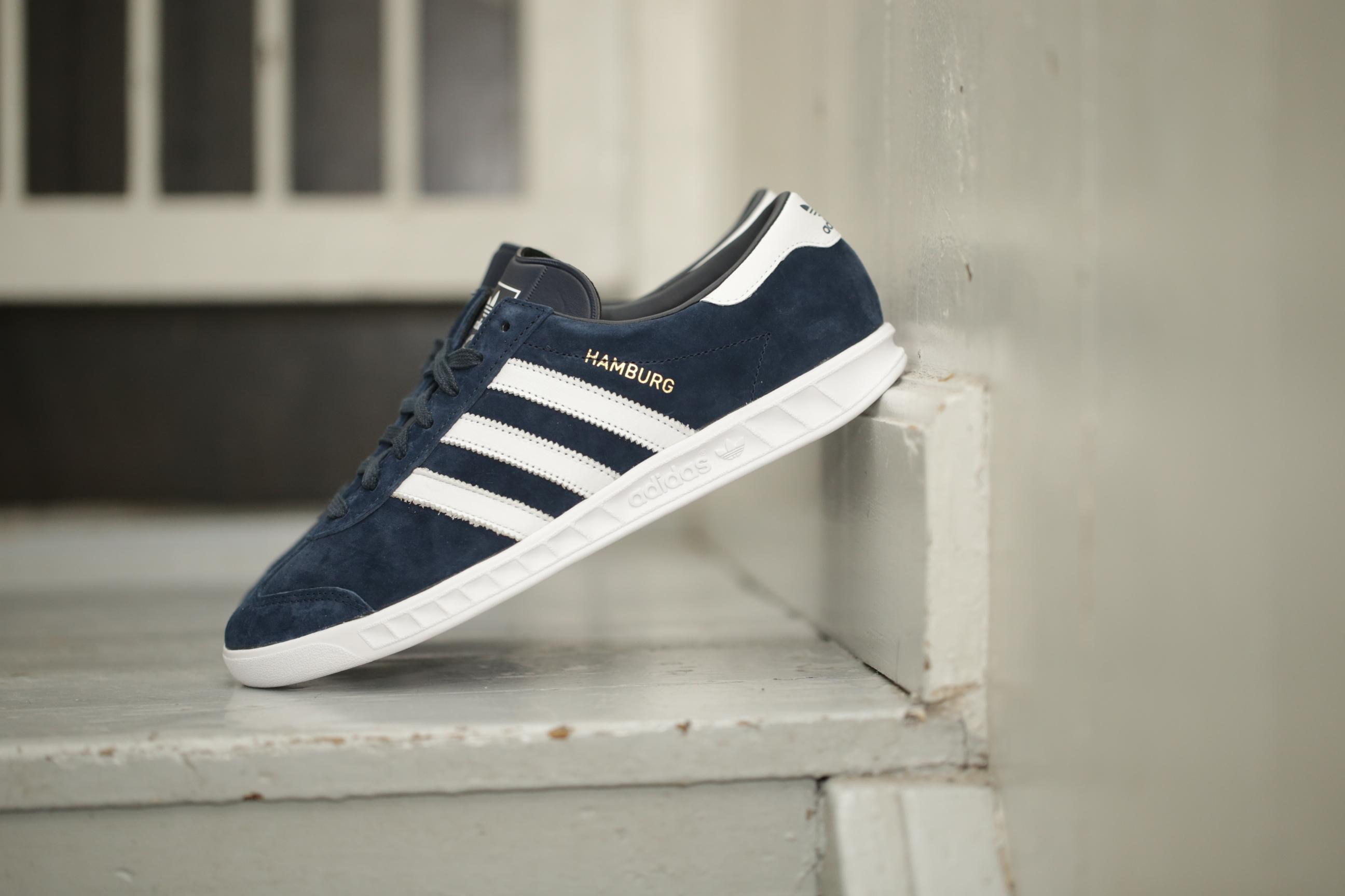Globaler Verkauf Adidas Originals Hamburg Blau Hamburg Damen