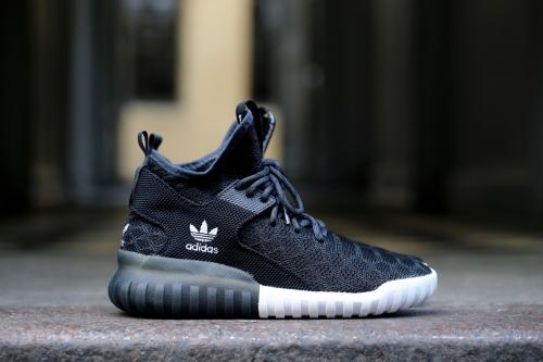 adidas Originals Tubular X Primeknit – Core Black Carbon