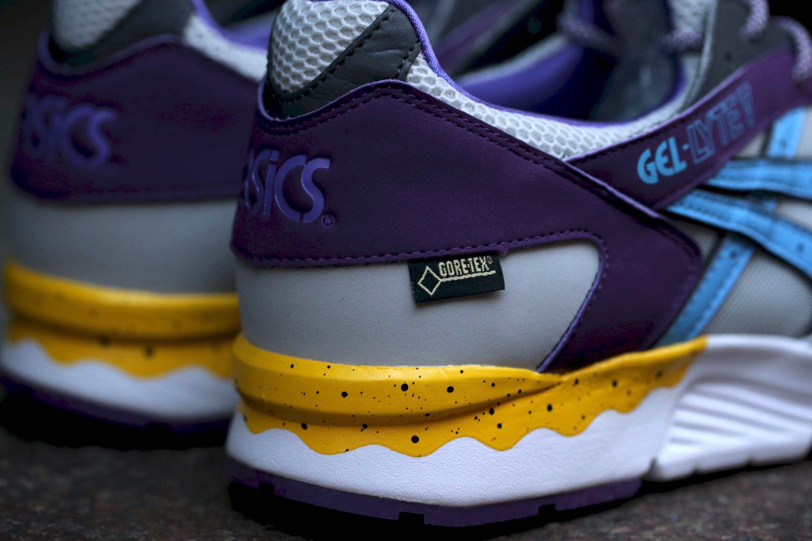 Tex Gore Púrpura Gel Asics Lyte V Xa0CS