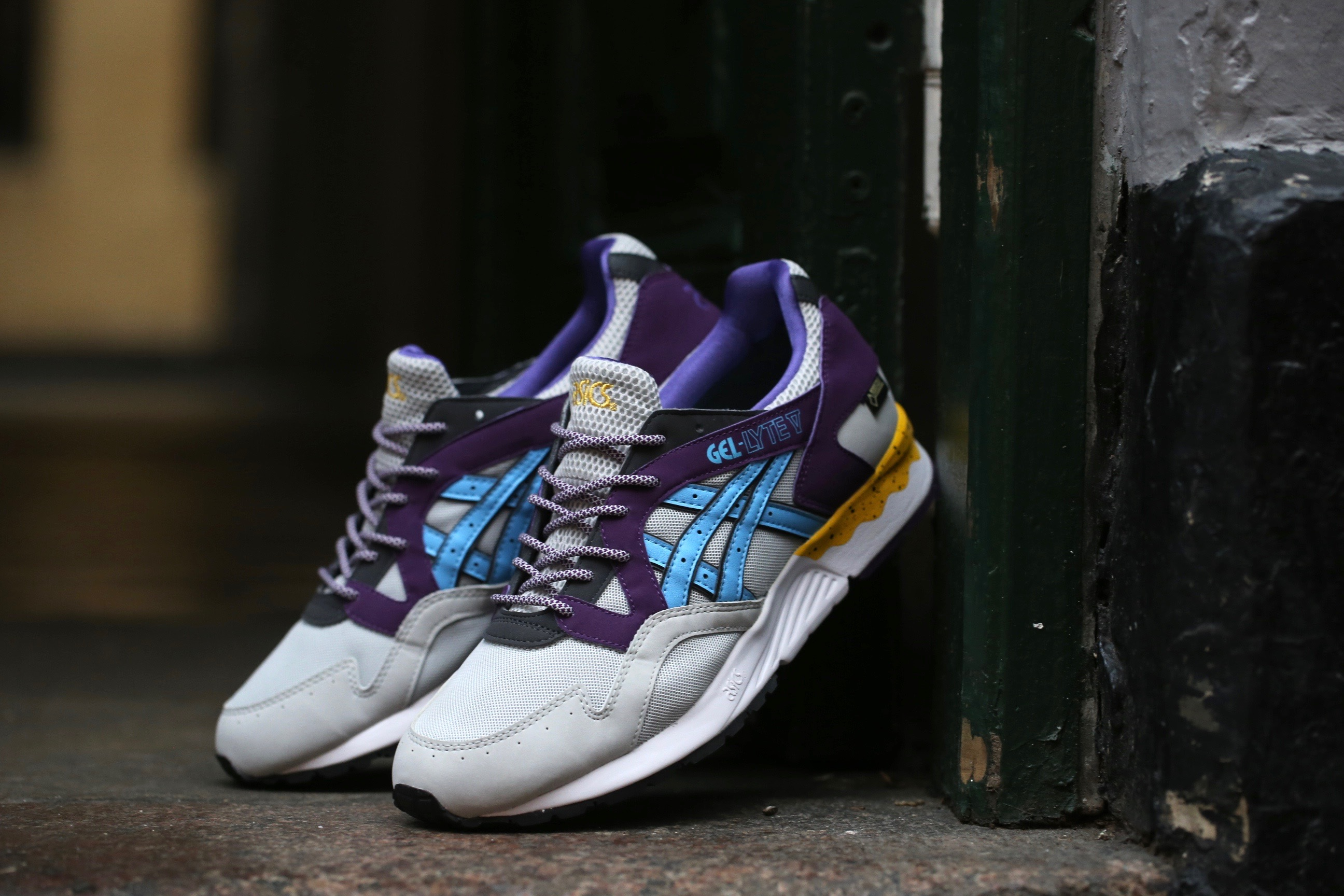 asics gel lyte v gore-tex black/soft grey