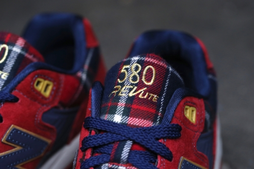 "New Balance 580 ""Tartan"" Pack - Red"