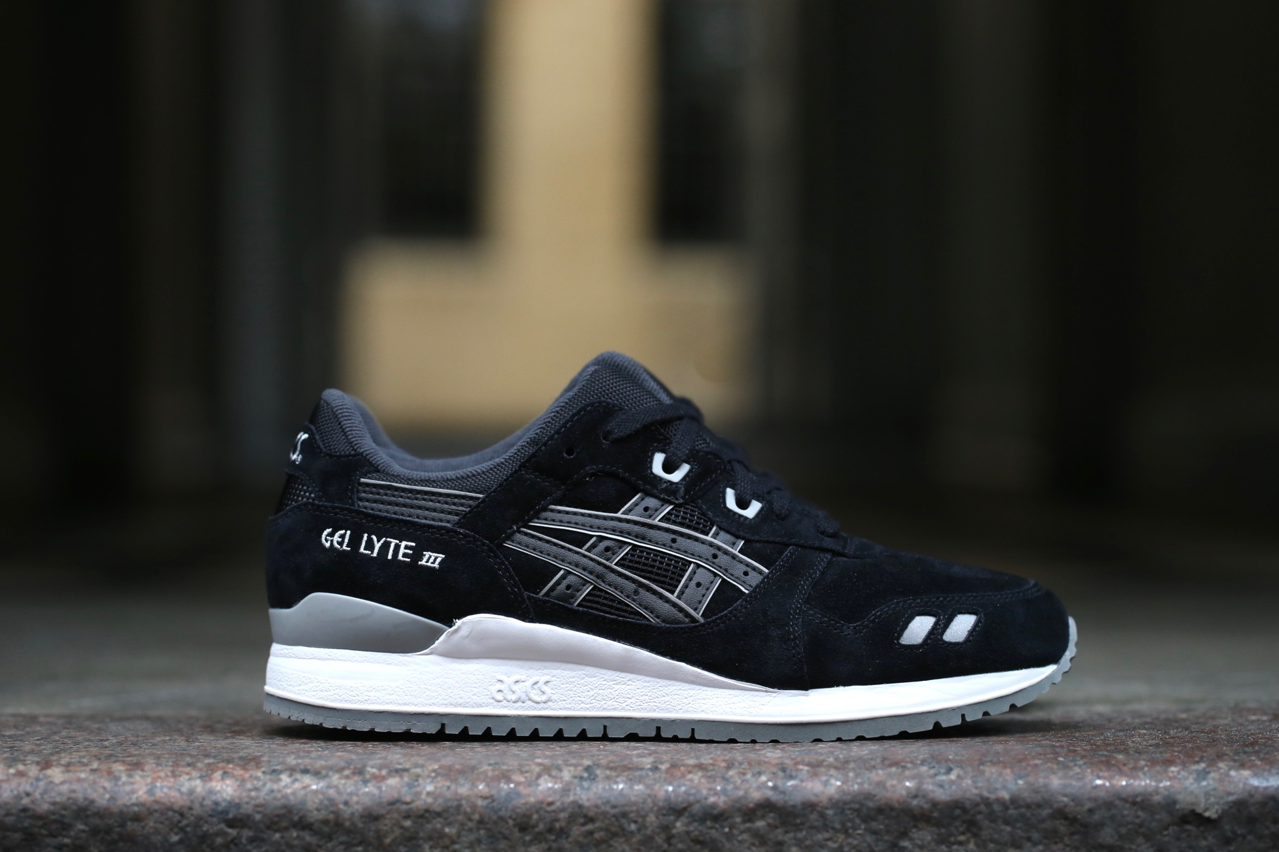 asics gel lite iii black