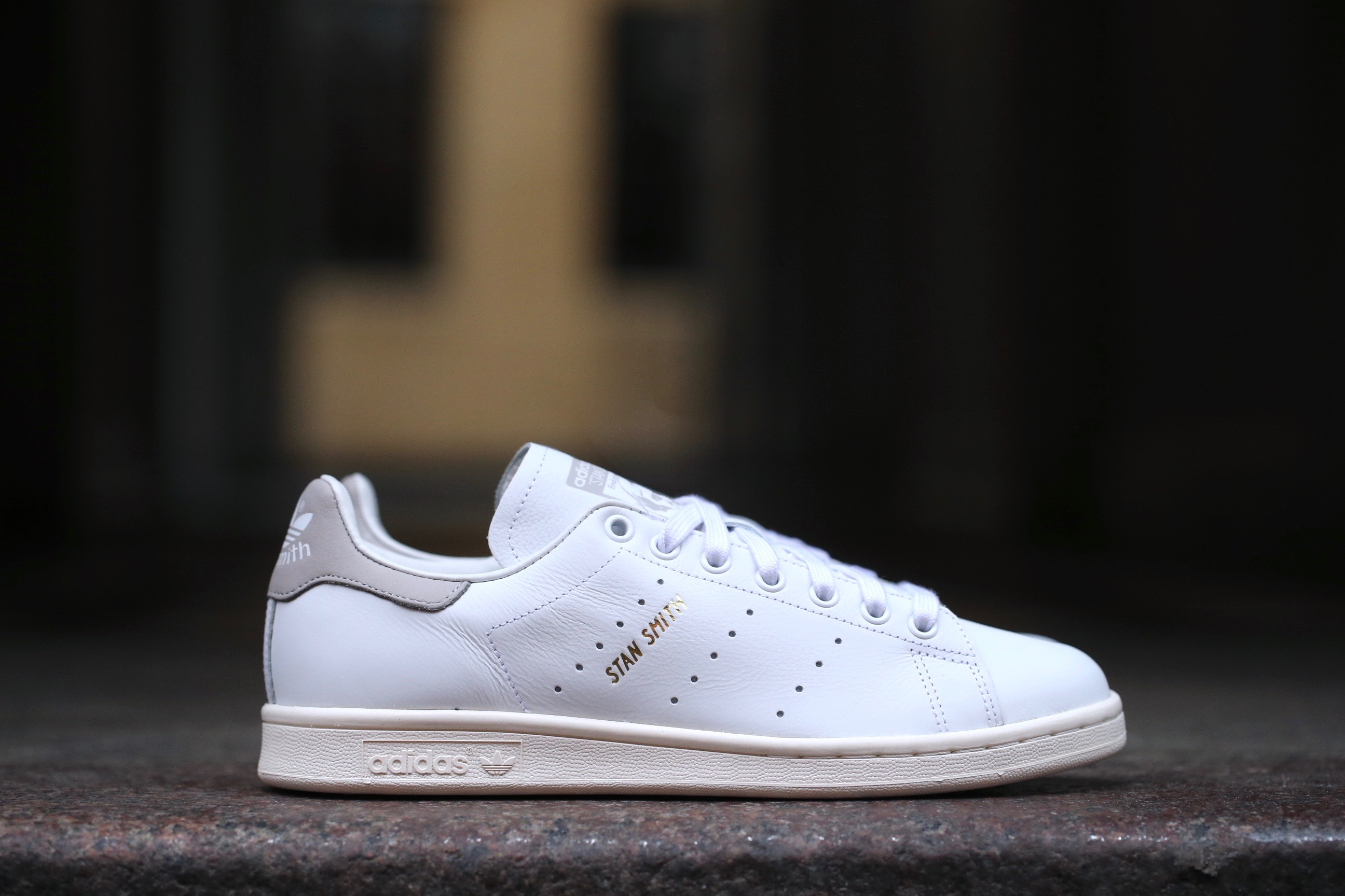 reputable site ff2c8 fc942 adidas Originals Stan Smith – White   Clear Granite – STASP
