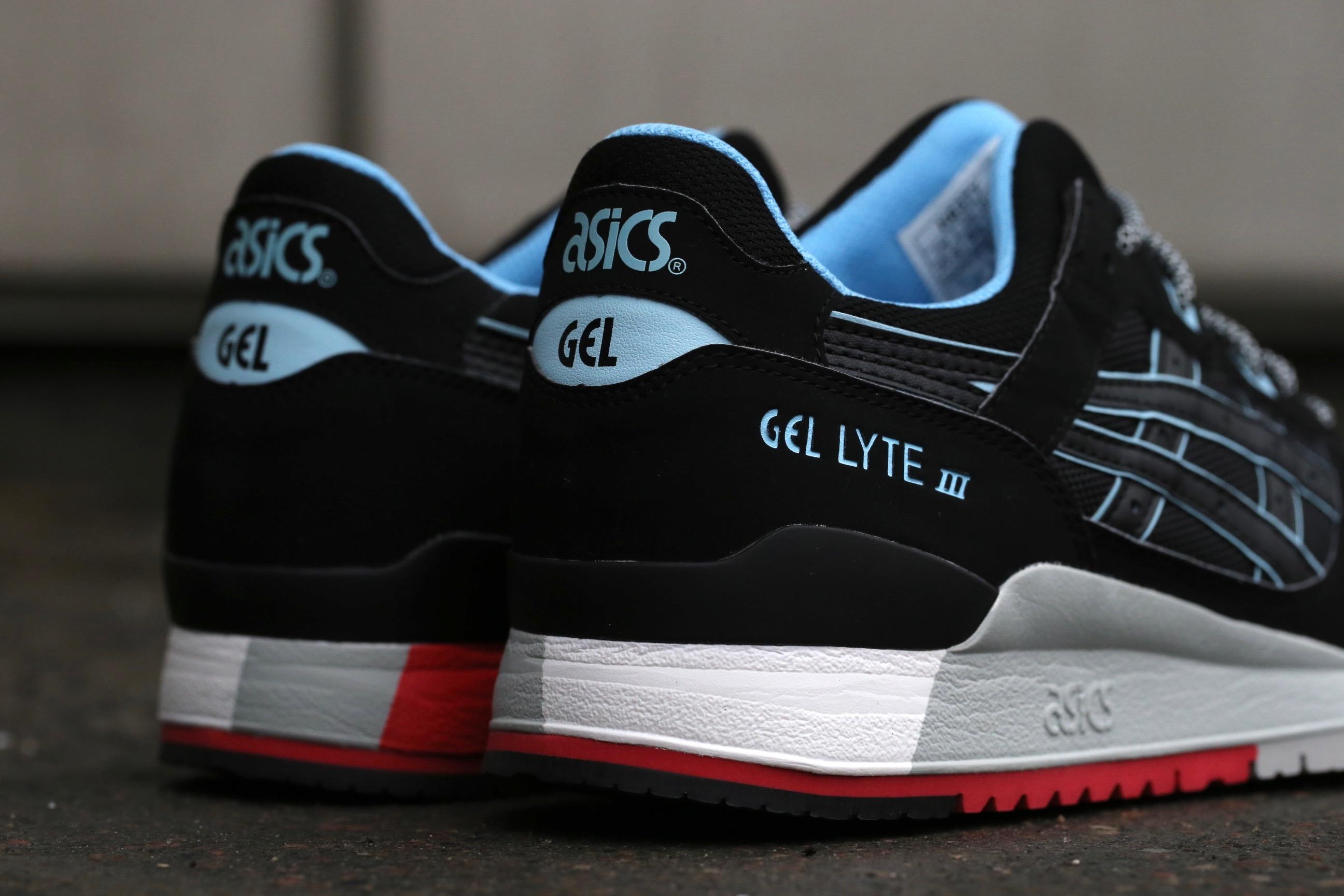 Buy asics gel lyte iii black black \u003e Up