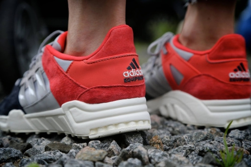 adidas Originals EQT Support 93 - Night Grey / Clear Granite / Bright Red