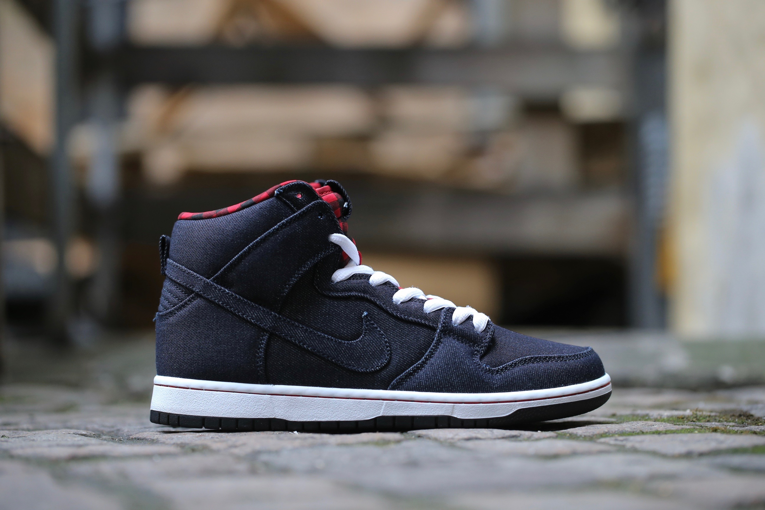 "sports shoes 42811 c7018 Nike SB Dunk High Premium ""Lumberjack"" – Dark Obsidian   White   Gym ..."