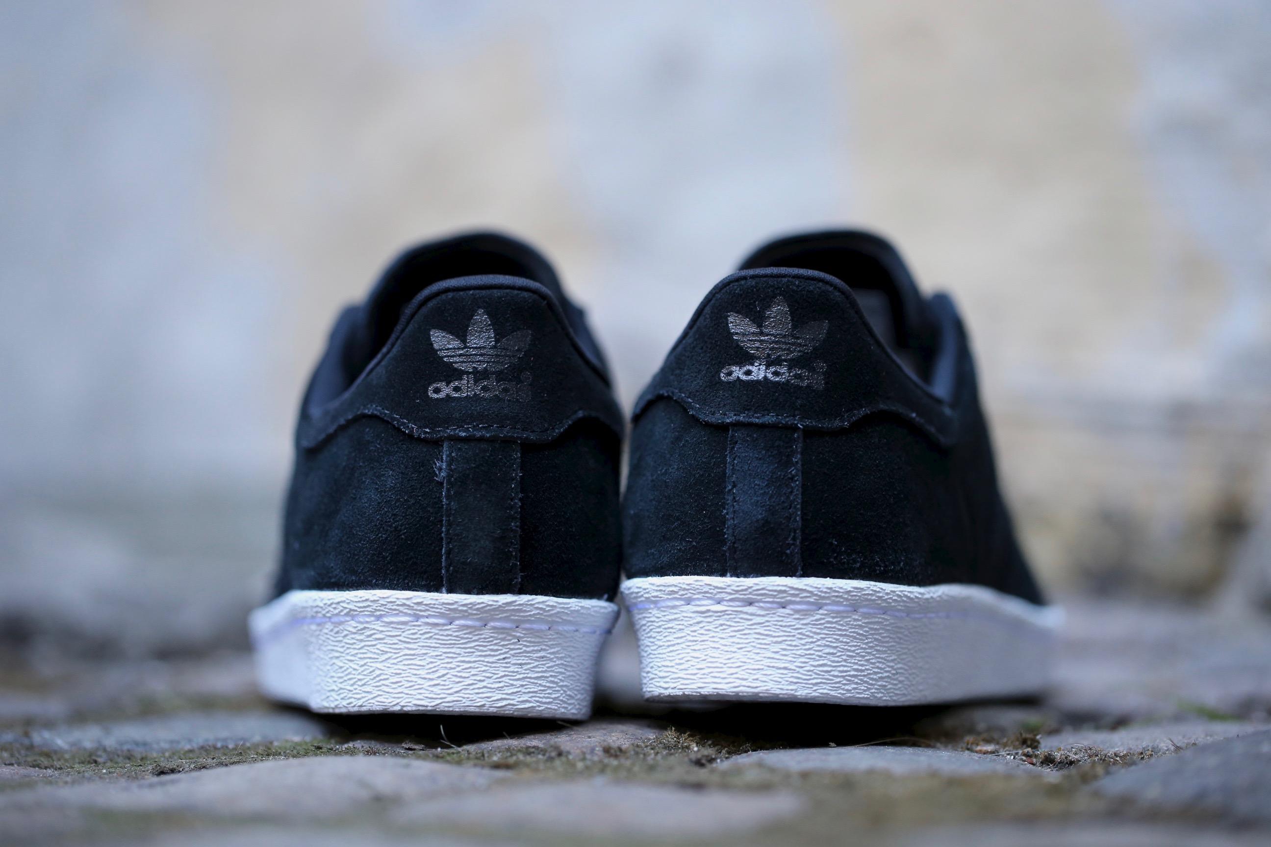 80 Adidas Superstar Dedo Del Pie Negro De Metal 3ZAD8WfN