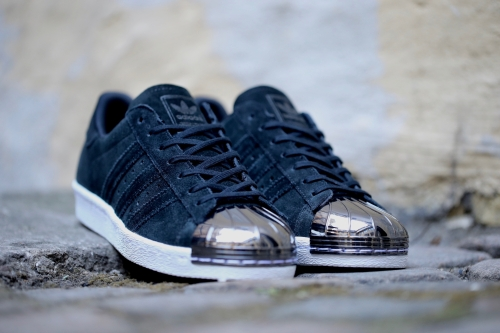 adidas Originals Superstar 80s Metal Toe - Core Black / Core Black / White