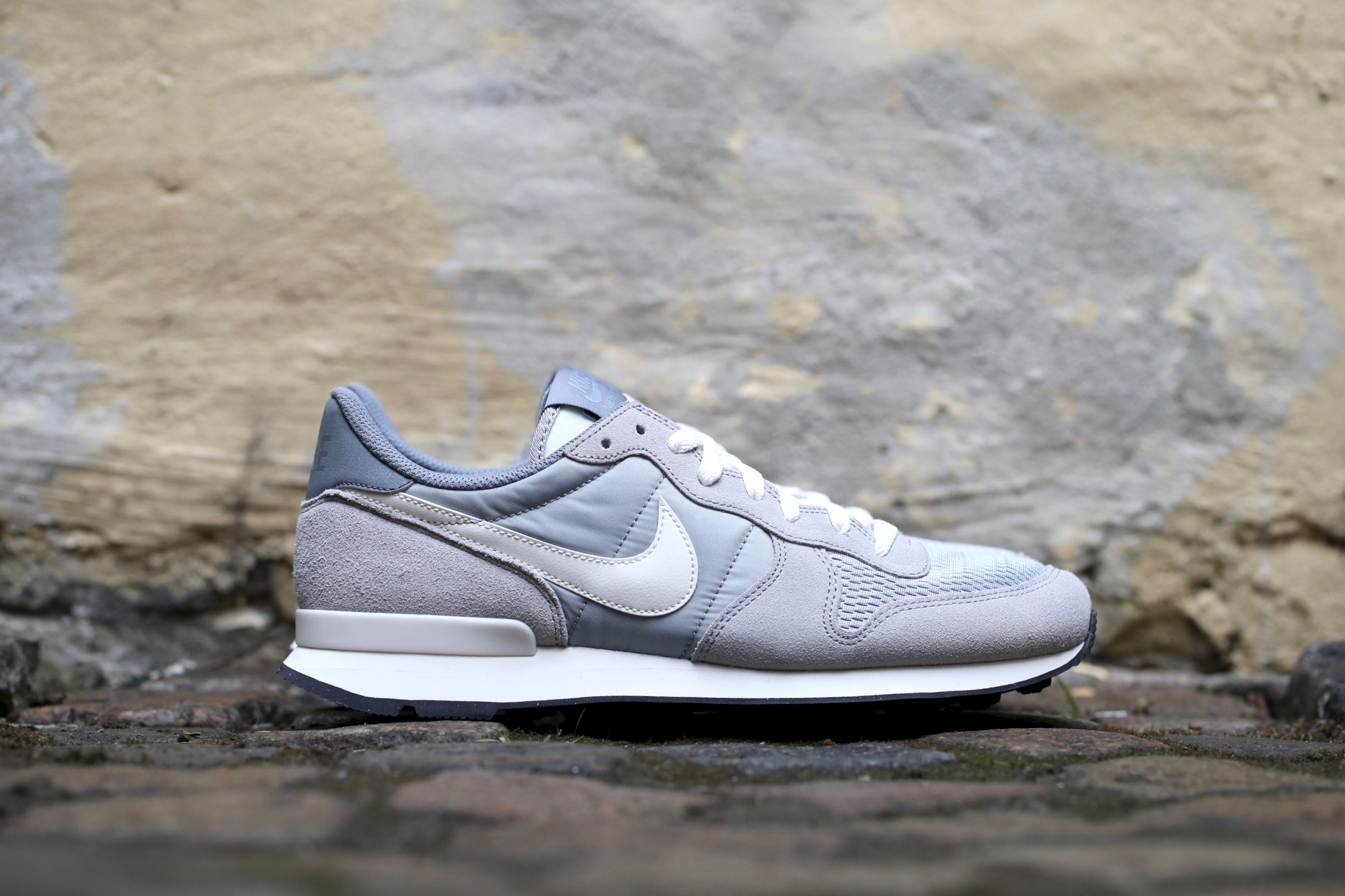 brand new d41f6 a295e Nike Internationalist – Wolf Grey / Sail – STASP