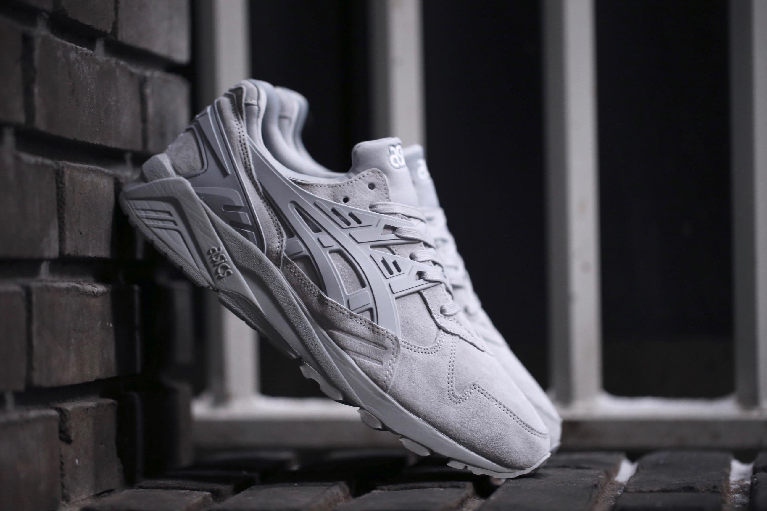 asics gel-kayano trainer light grey