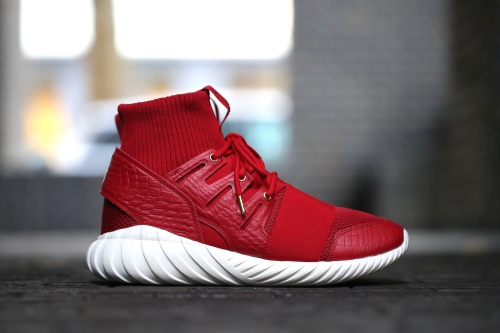 "adidas Originals Tubular Doom CNY ""Chinese New Year"" Pack - Power Red / Power Red / Gold Metallic"