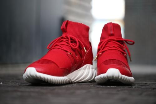 "adidas Originals Tubular Doom CNY ""Chinese New Year"" Pack - Power Red / Power Red / Gold Metallic"