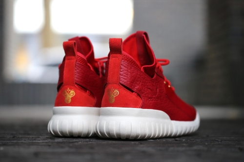 "adidas Originals Tubular X CNY ""Chinese New Year"" Pack - Power Red / Red / Gold Metallic"