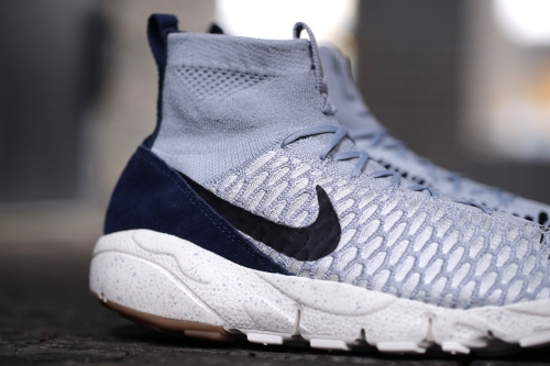 Nike Air Footscape Magista Flyknit - Wolf Grey / Black / Sail / Dark Obsidian