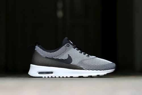 Nike W Air Max Thea KJCRD - Black / White / Metallic Silver