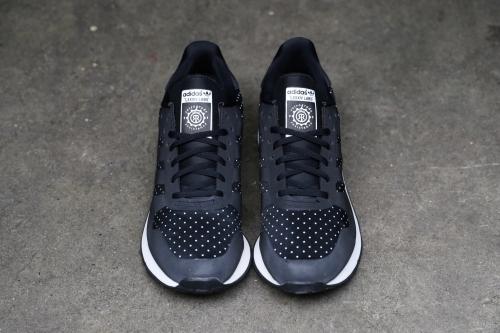adidas Originals x KZK CNTR Weld 84-Lab. - Black / Black / Light Bone