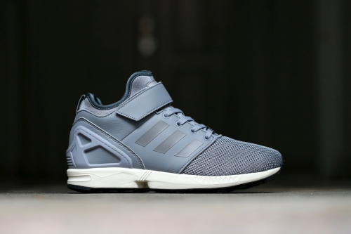 adidas Originals ZX Flux NPS Mid - Grey / Grey / Light Onix