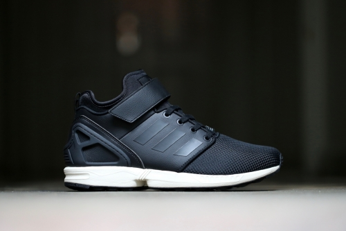 adidas Originals ZX Flux NPS Mid - Core Black / Core Black / Chalk White