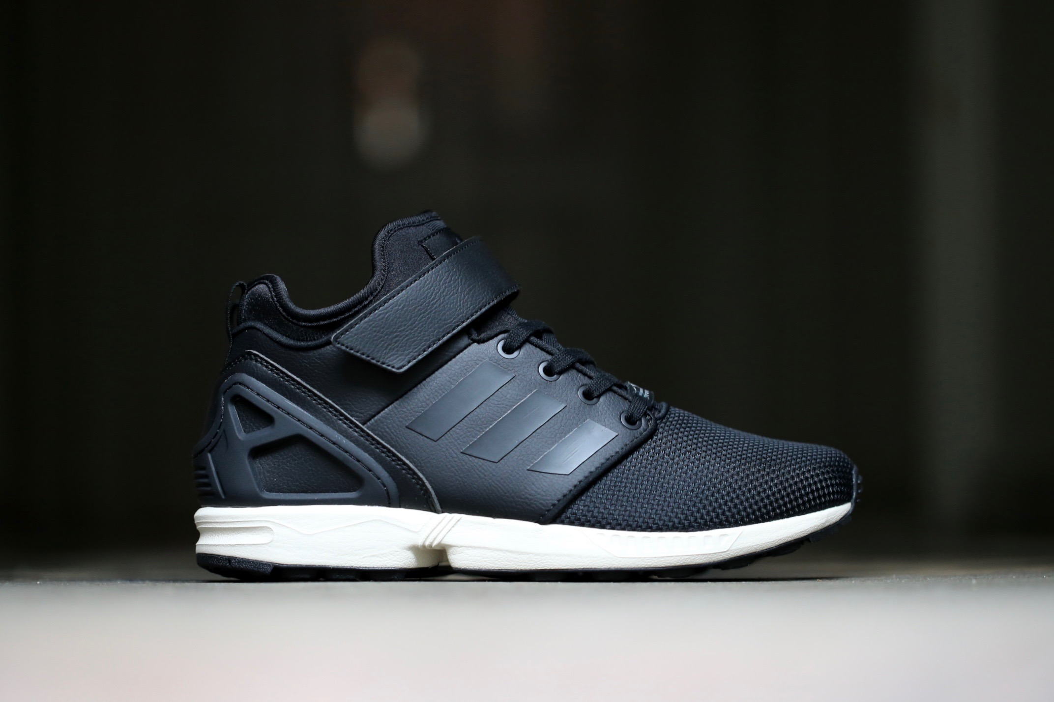 half off 33d77 2285c adidas Originals ZX Flux NPS Mid - Core Black / Core Black / Chalk White