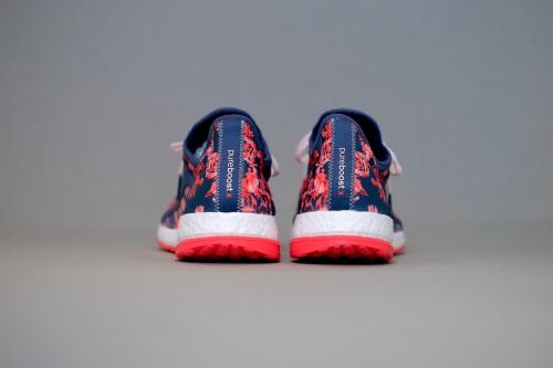 adidas Pureboost X - Mineral Blue / Mineral Blue / Halo Pink